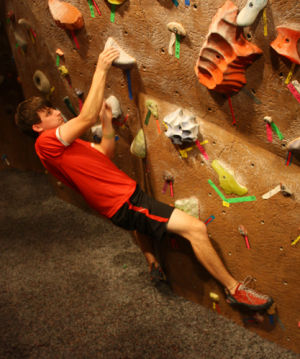 Shipwrecked at Bouldering Night Out