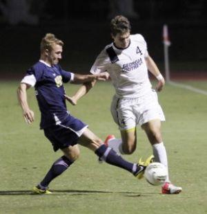 Men's soccer breaks free of losing streak