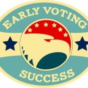 GSU+rocks+early+vote+on-campus