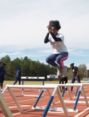 Track and field competes against loaded field
