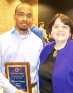 GSU+student+employee+receives+award