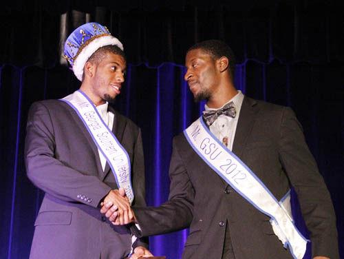 Mr.+GSU+2013%2C+James+Johnson%2C+takes+the+crown+from+Mr.+GSU+2012+Terico+Agnew.