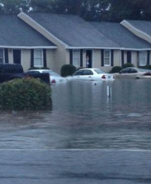 Heavy rain causes concern