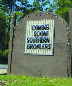 Southern Growlers will be Statesboro's first exclusive growler fill-up station. The shop will open up sometime within the next month.Photo by: Andy Morales