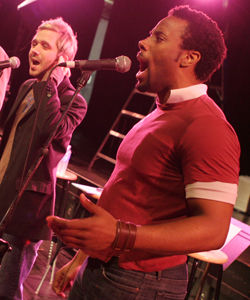 The Broadway Boys combine traditional Broadway tunes with contemporary upbeat harmonies.Photo courtesy of: Broadway Boys