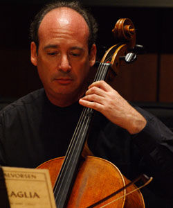 Steven Elisha began playing the cello when he was six.Photo by: Heather Yeomans