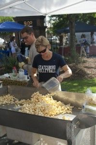 The farmers market comes back to campus today. It will be open the first and third Tuesday of each month.File photo