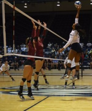 Volleyball to play the Citadel tonight