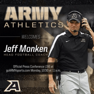 Army+Football+replaced+the+front+end+of+their+website+with+this+graphic+to+welcome+their+new+head+coach.