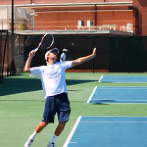 Men's tennis pulling close, but not close enough