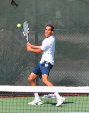Men's tennis season comes to an end