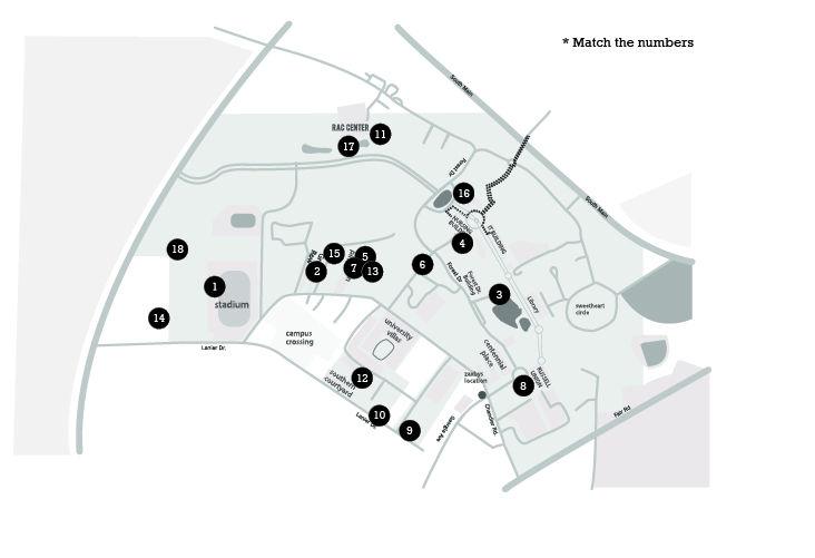 GSU Campus Map