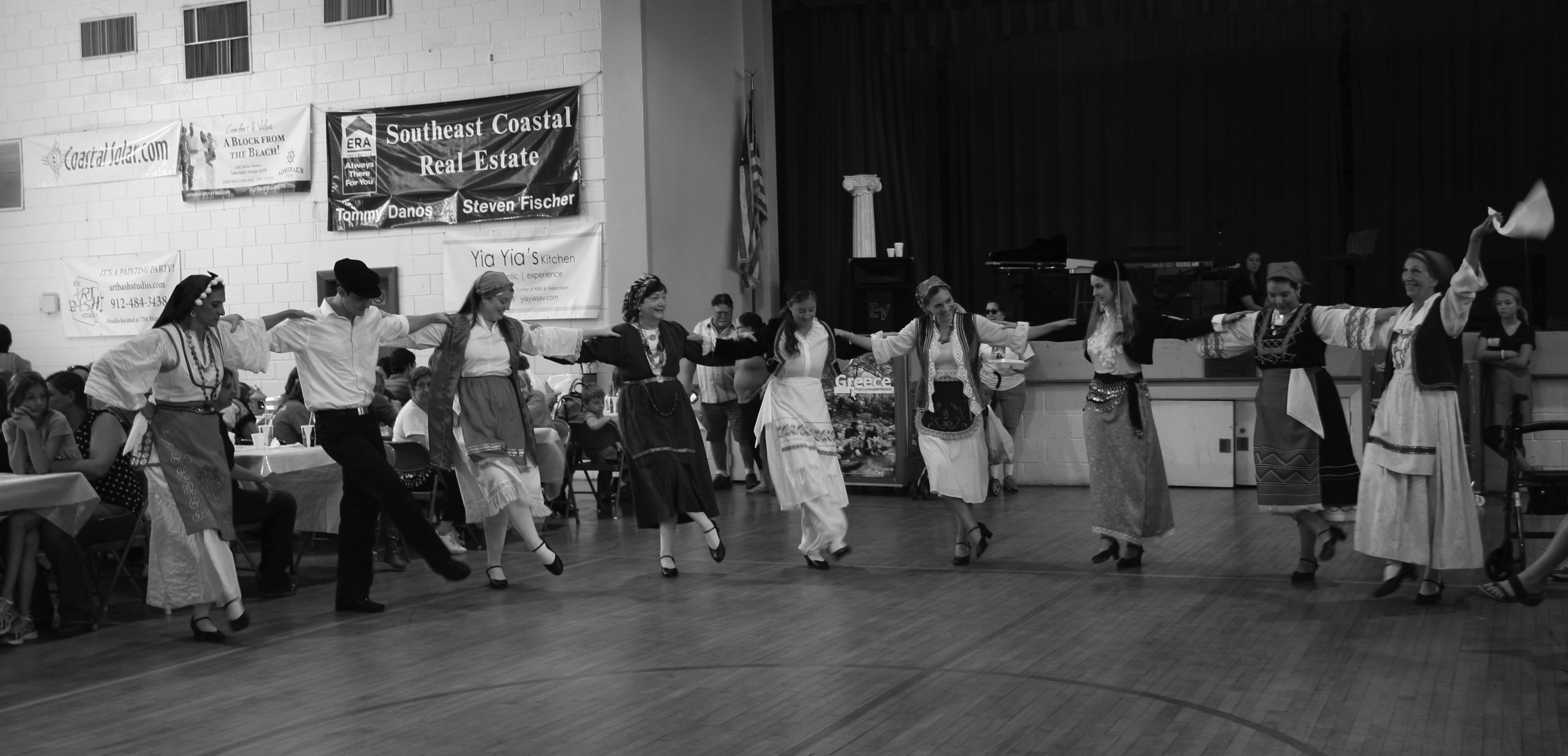 Tradition Greek dancing at the Greek Festival