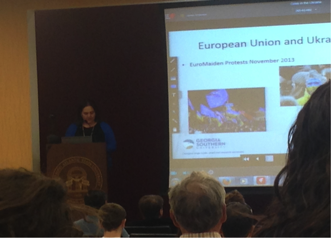 Ukraine Crisis Symposium held at Armstrong's Ogeechee Theatre