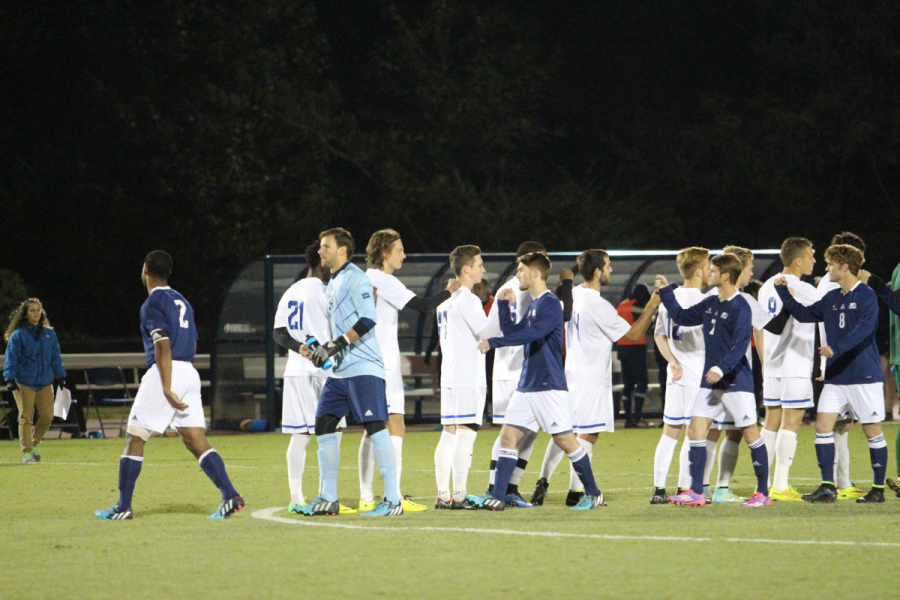 Mens soccer comes up short in title game