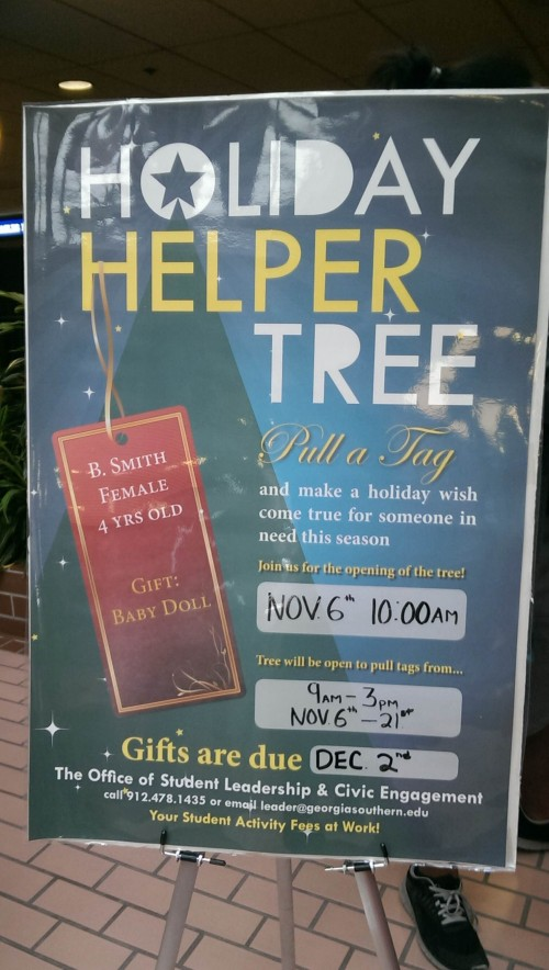 Help your neighbor with the Holiday Helper Tree