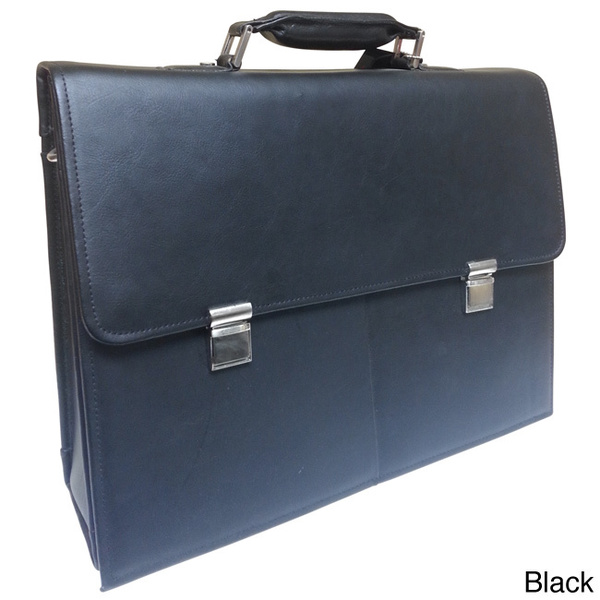 Overstock Leather Briefcase
