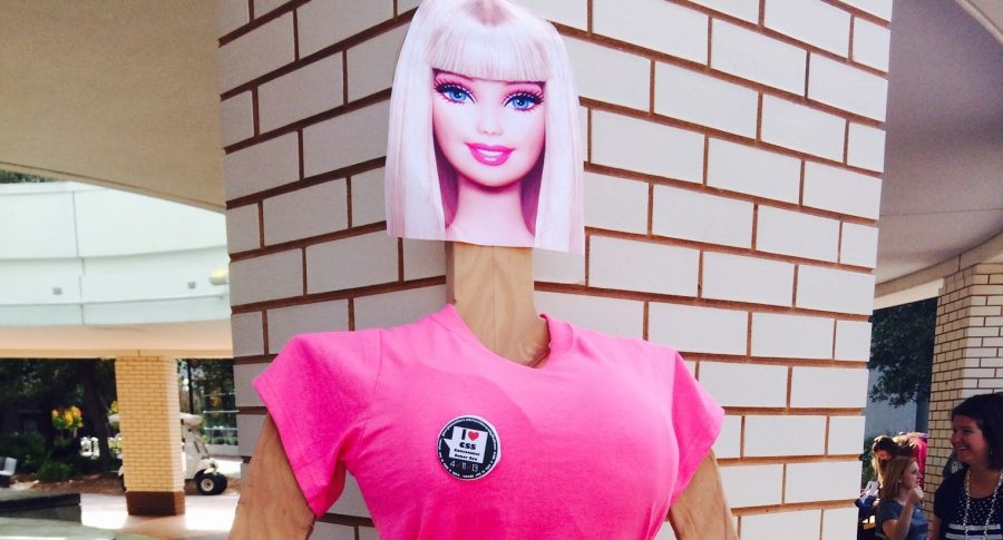 What would Barbie look like with a real waistline?