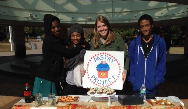 Homemade goods for wounded soldiers