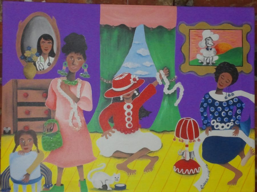 Authentic Gullah artist shares work in City Market