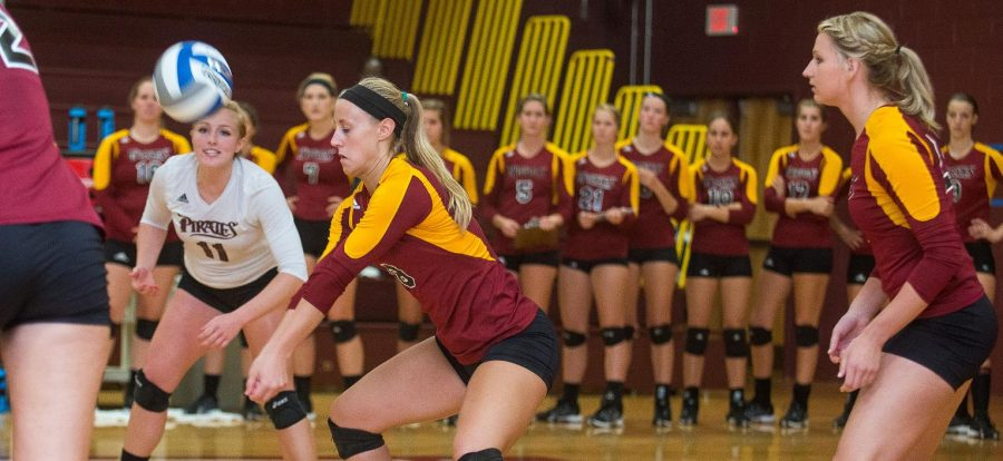 Pirates Volleyball season ends in sweet 16