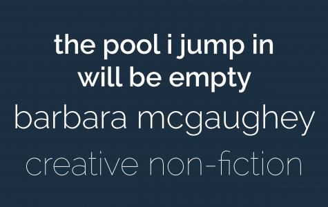 THE POOL I JUMP IN WILL BE EMPTY
