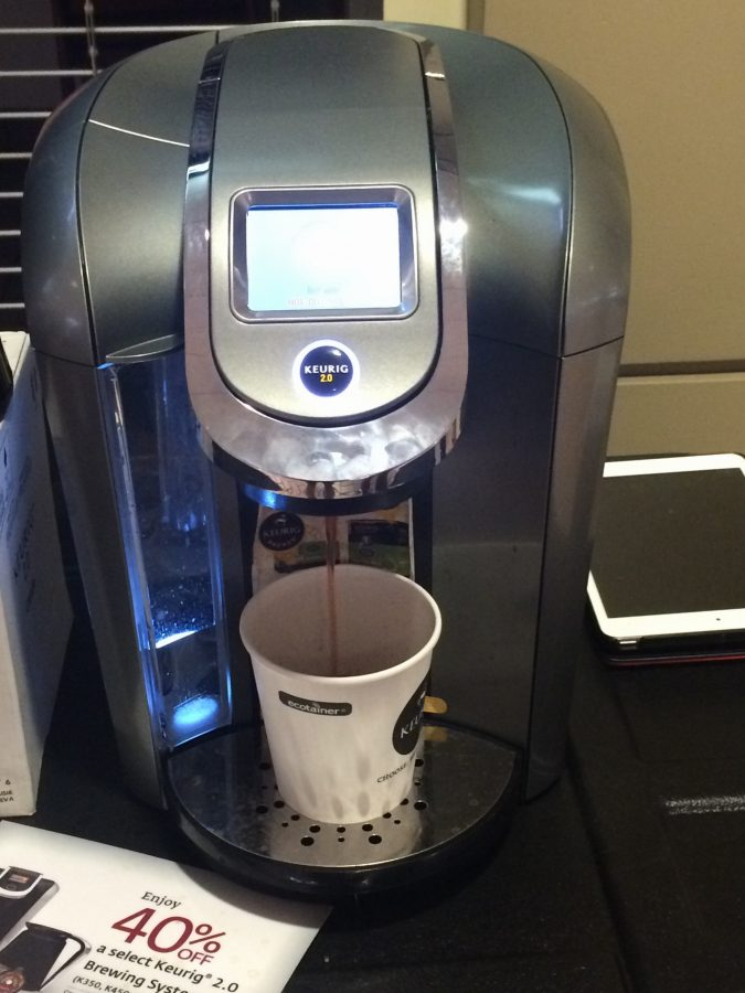 Get a chance to test out a Keurig 2.0