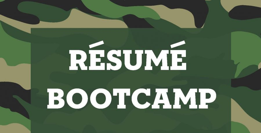 Résumé Bootcamp Wants You!