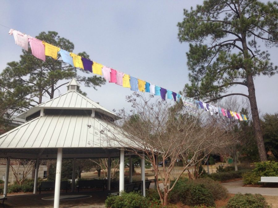 Add to the Line: The Clothesline Project