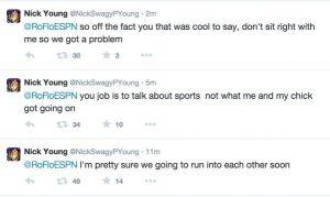 Nick Young Tweets