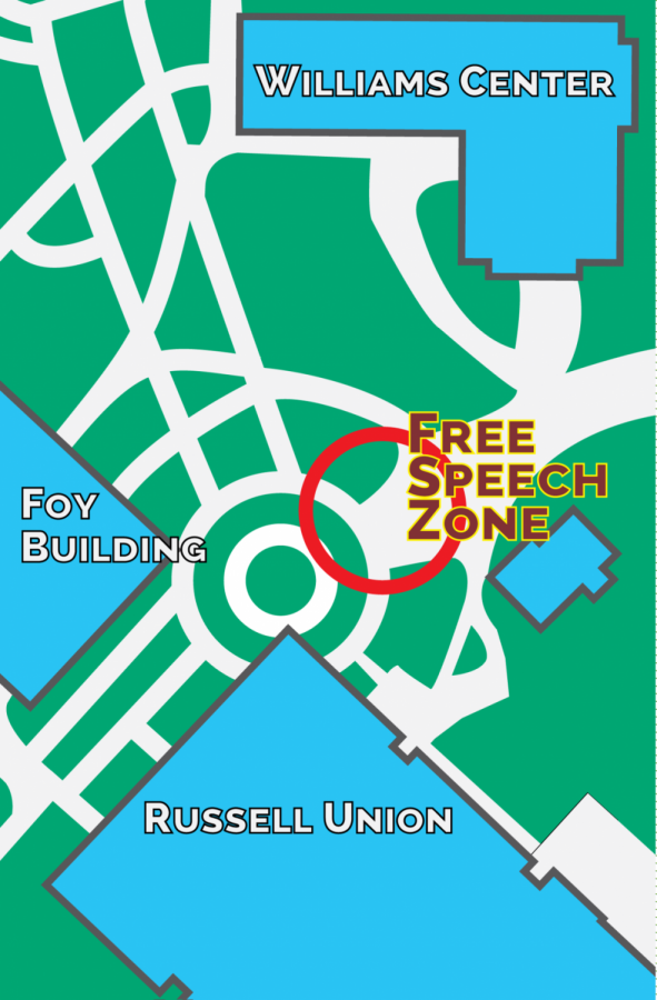 Free Speech Zone to begin seeing more residents