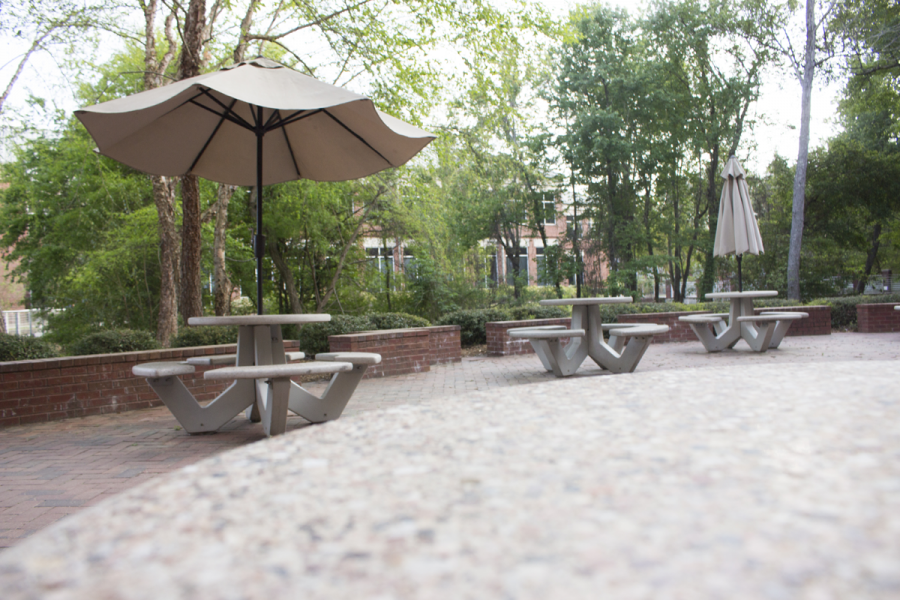 Three outdoor study spots to brighten your day