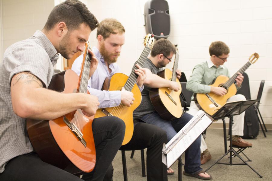 Georgia Southern Department of Music to present the Georgia Southern Guitar Ensemble