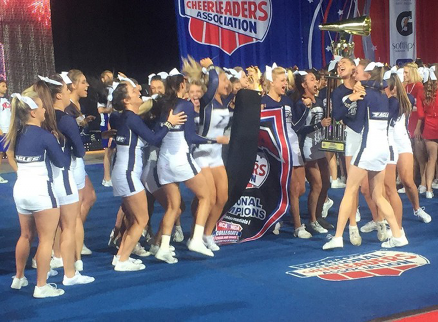 Georgia+Southern+Cheer+Team+wins+fifth+national+title