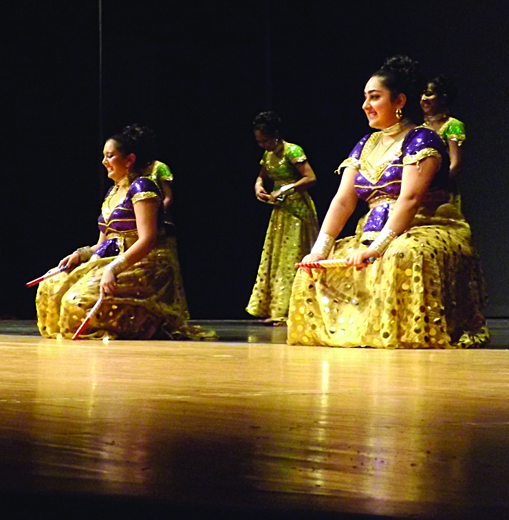 Dancers on stage 2