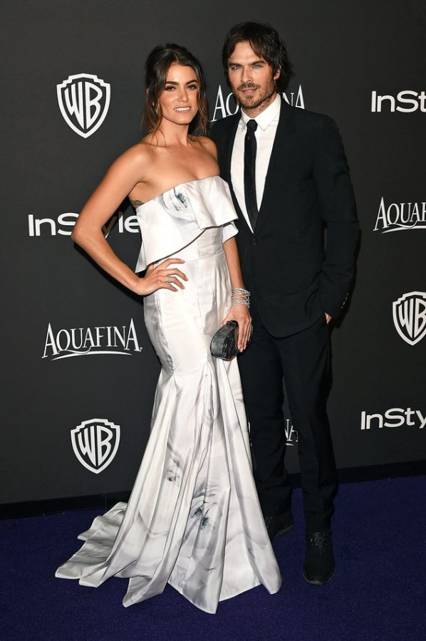 Nikki Reed and Ian