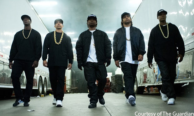 Extra+Security+at+%22Straight+Outta+Compton%22+premiere+causes+controversy