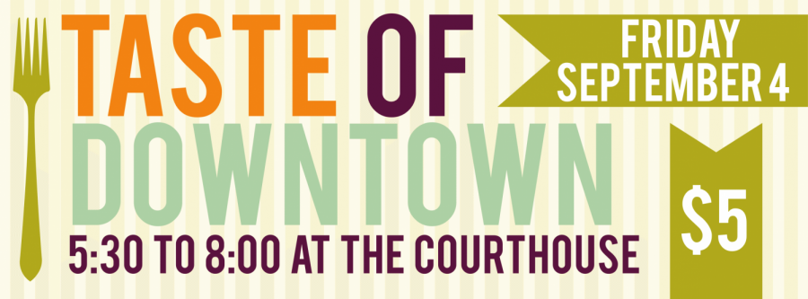 F1rst Fridays: Taste of Downtown