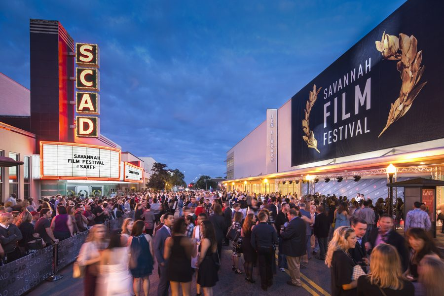 SCAD Savannah – Fall 2015 – Savannah Film Festival – Opening Night – Street Party – Trustees Theater – Photography by Justin Chan