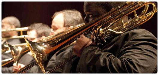 Jazz ensemble rocks its fall concert
