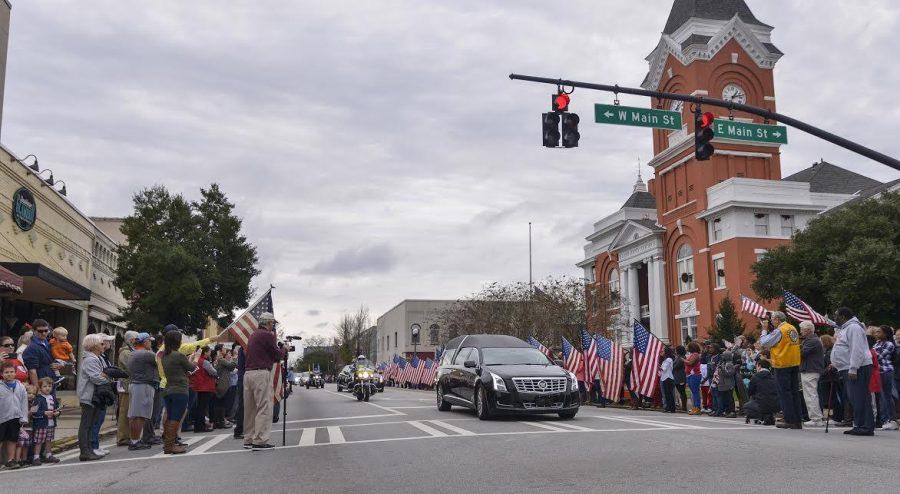Local Hero's Life Honored
