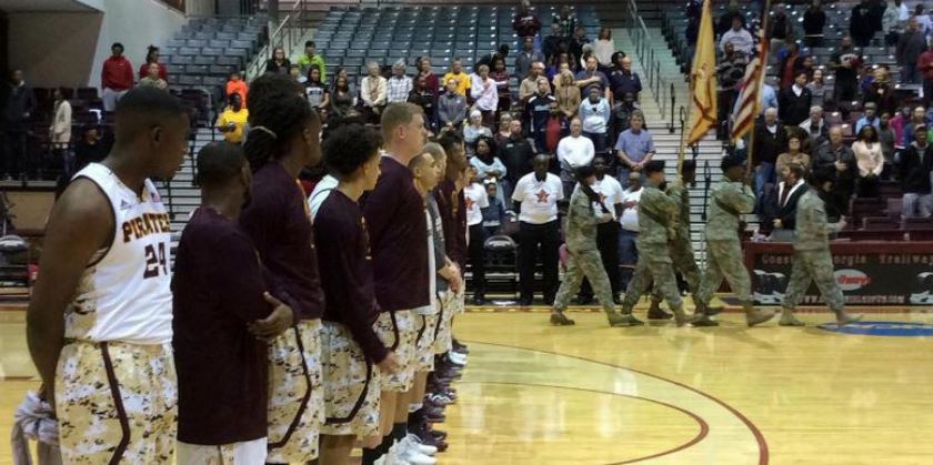 Armstrong Athletics gives back through Military Appreciation Day