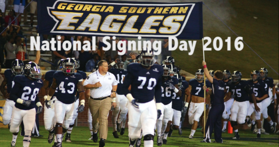 Georgia+Southern+National+Signing+Day+2016