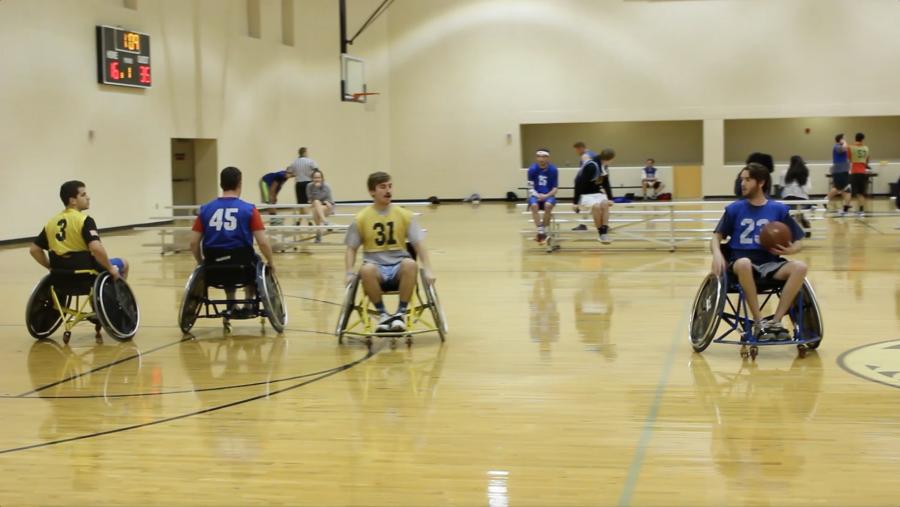 Wheelchair+Basketball