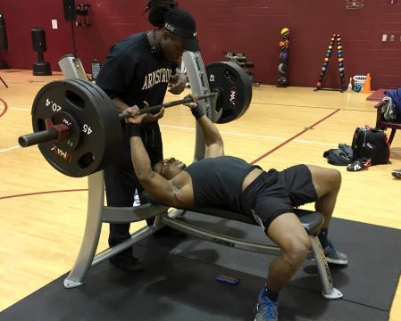 Photo Story: Bench Press Competition