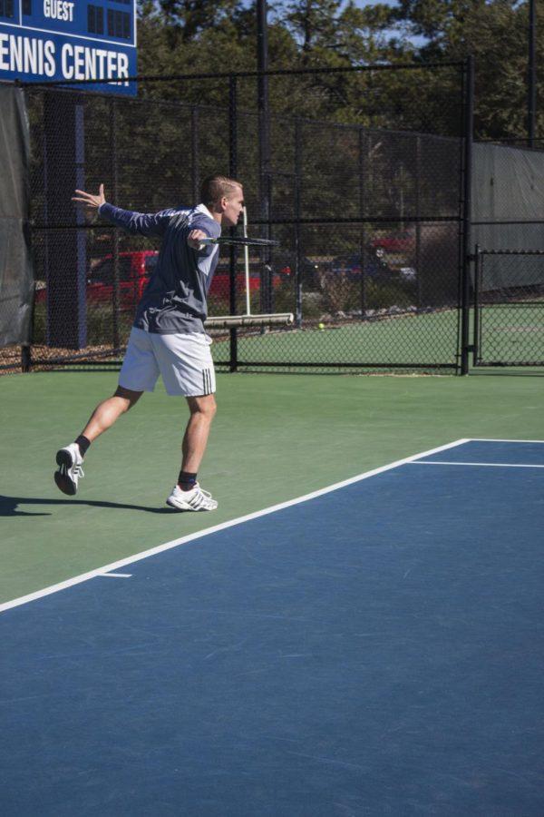Men's tennis competes in home opener this week
