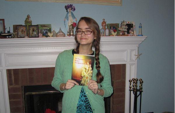 Nursing major publishes fantasy novel