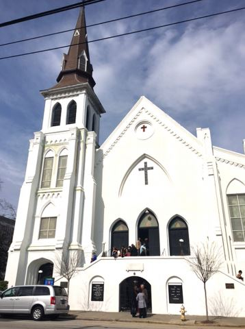 Triumph over tragedy: Students visit African Methodist Episcopal Church