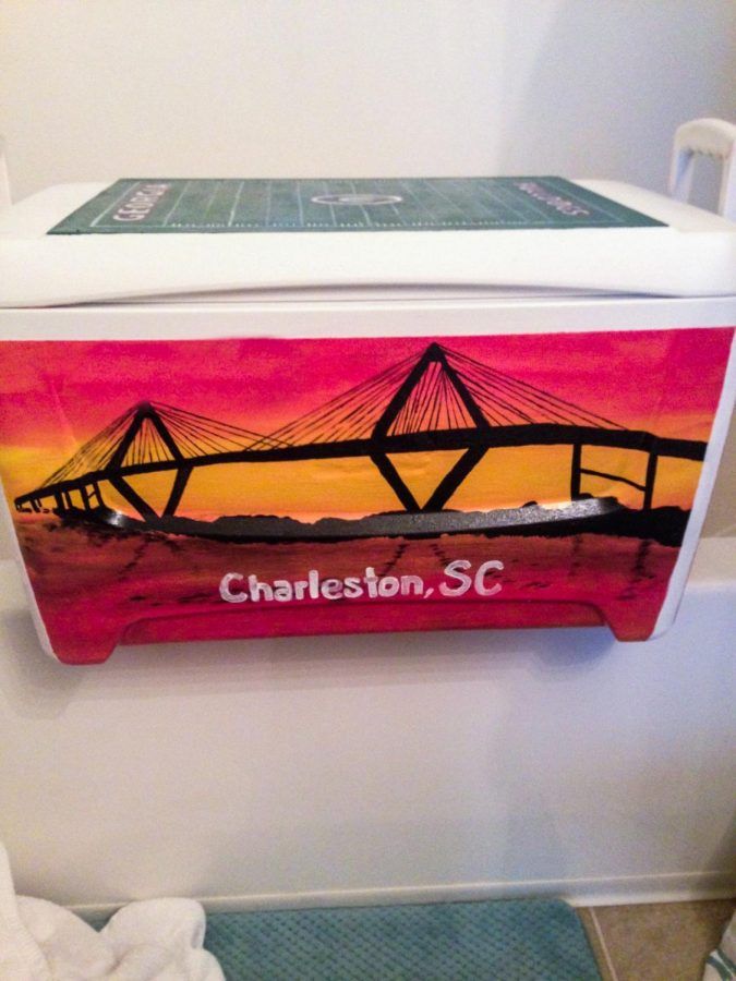 Cooler Painting, Craft or Curse? Students describe the tedious tasks behind hand painted coolers