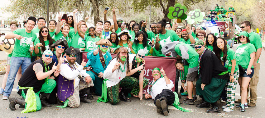 Armstrong celebrates 192nd St. Patrick's Day parade in Savannah
